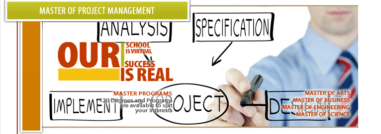 masters of project management Looking for project management masters degrees find and contact masters in project management programs on gradschoolscom your future starts here.
