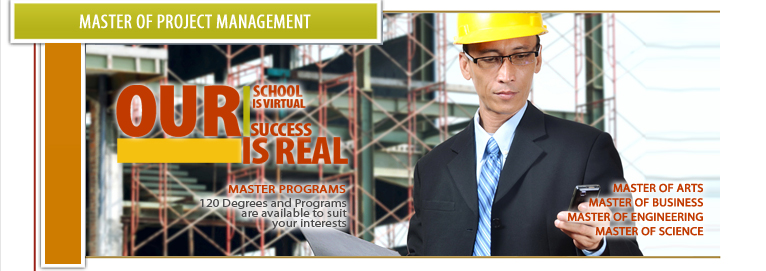 Master of project management ma courses online for Master project management online